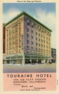 Touraine Hotel, 16th and Clay Streets, Oakland, California (1)